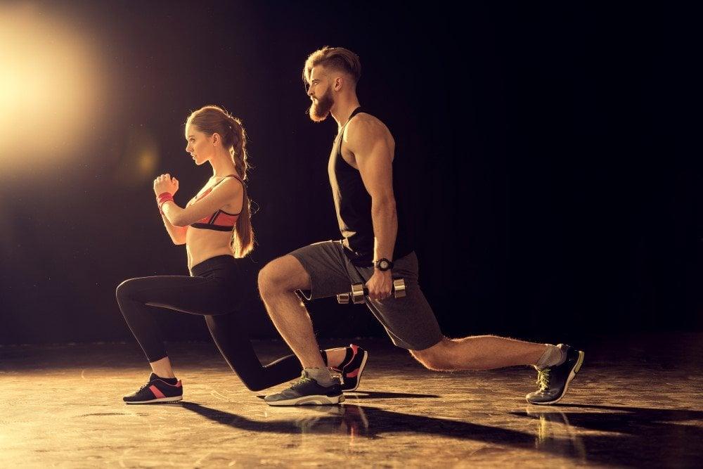 Par der dyrker fitness