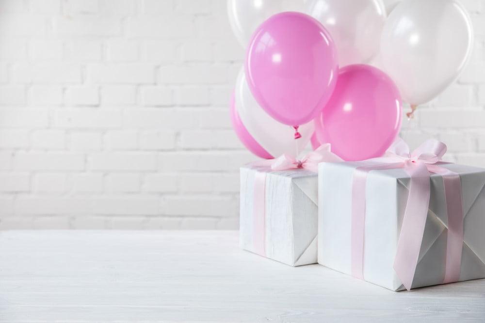 2 fødselsdagsgaver til hende