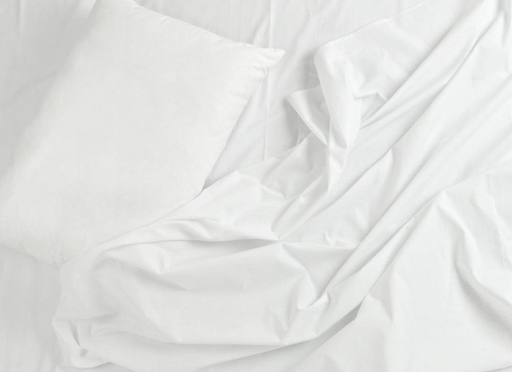 Hvidt sengetøj