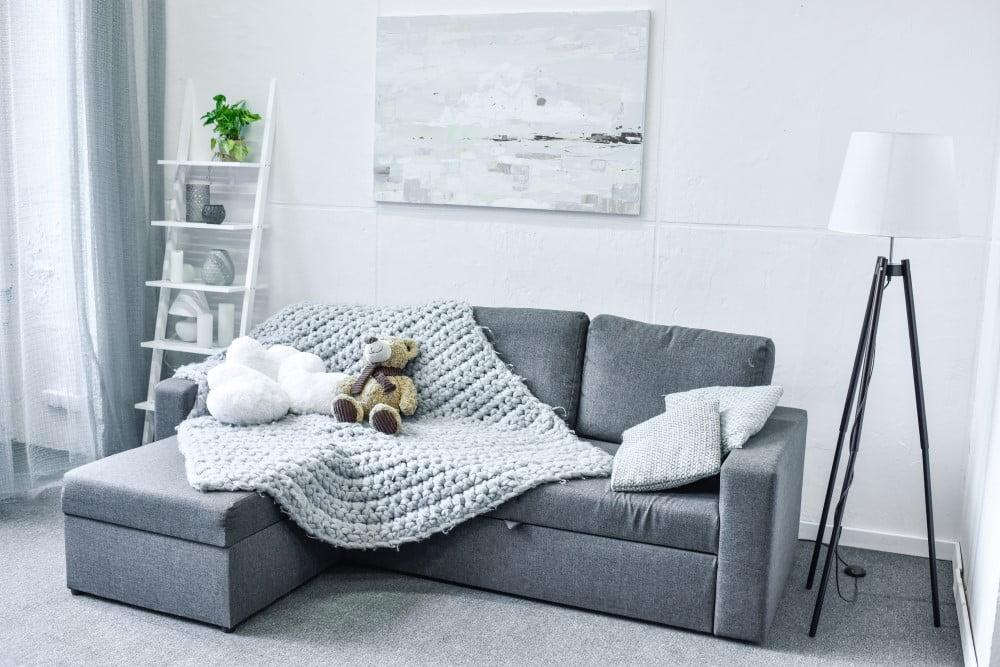 Sofa i stuen